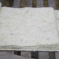 Boekje van handgeschept papier