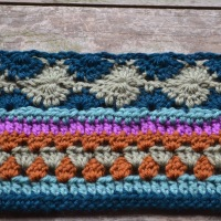 Crochet Along week 4 Catherine Wheel