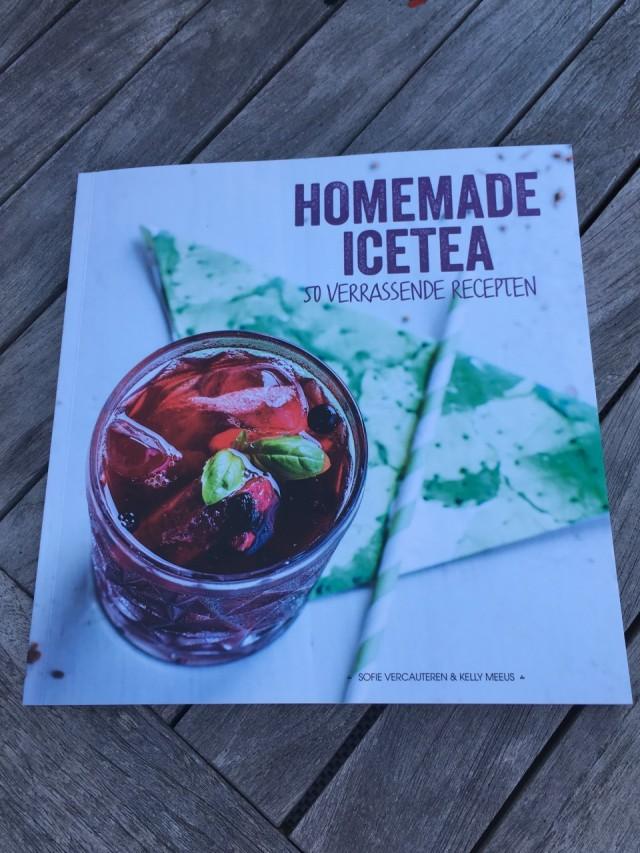 Homemade Icetea boek