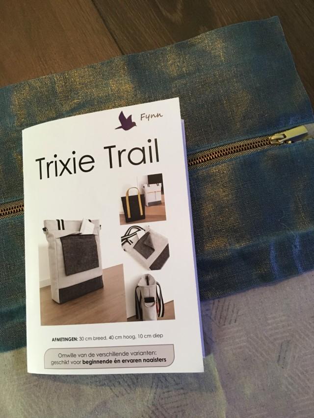 Trixie trail boekje